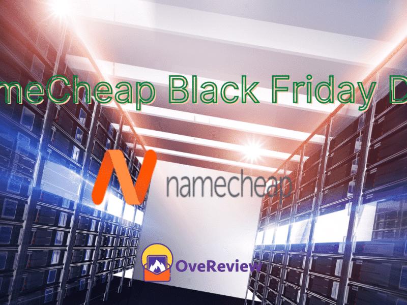 NameCheap Black Friday Deal