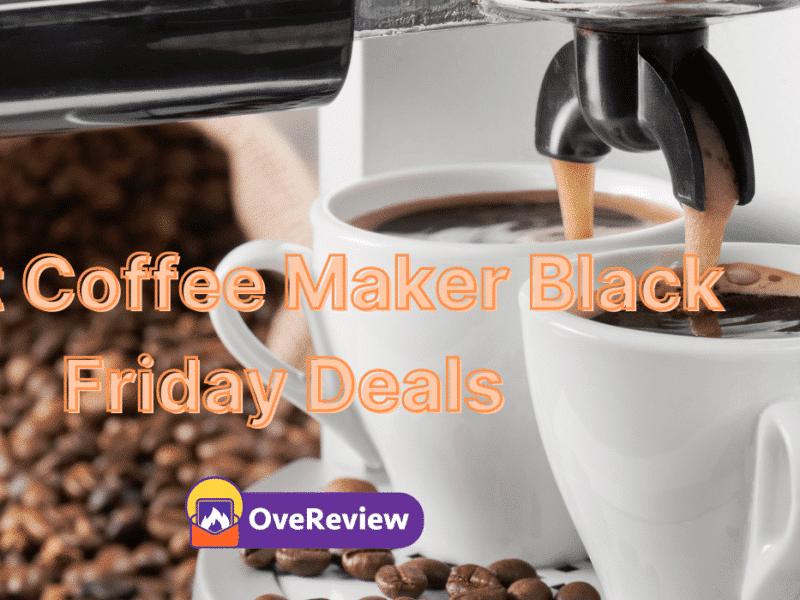 Coffee Maker Black Friday Deals