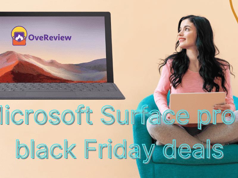 Microsoft Surface pro 7 black Friday deals 2020 sale