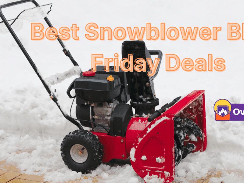 20 Best Snowblower Black Friday & Cyber Monday 2021 Deals 3