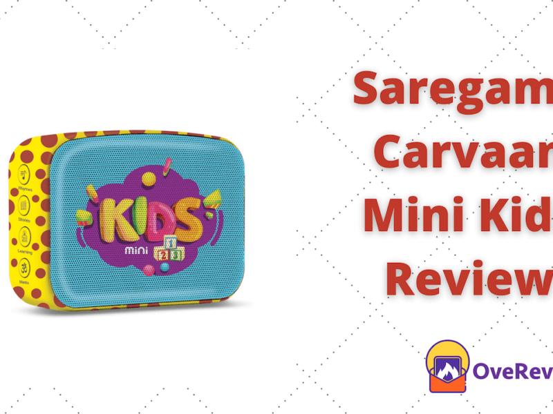 Saregama Carvaan mini kids review
