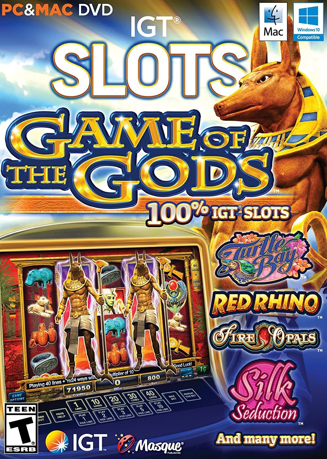 IGT Slots: games of the gods