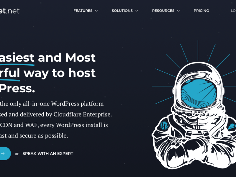 Rocket.Net Review 2021- Pros & Cons of Best Managed Wordpress Hosting 1