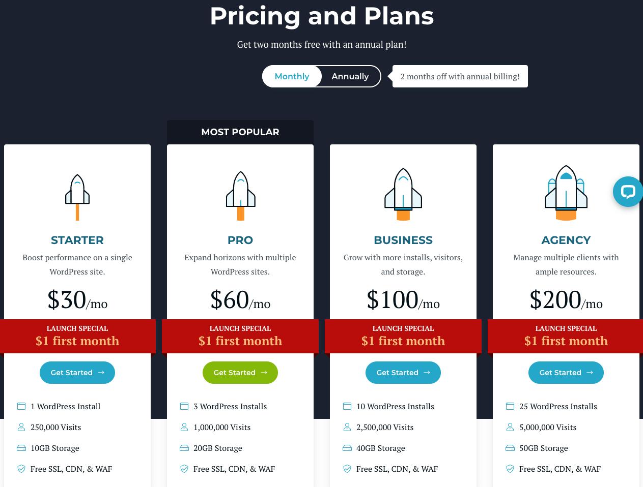 Rocket.Net pricing