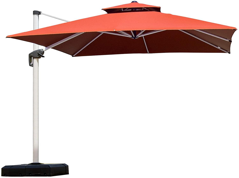 Purple lead 10f Cantilever Umbrella