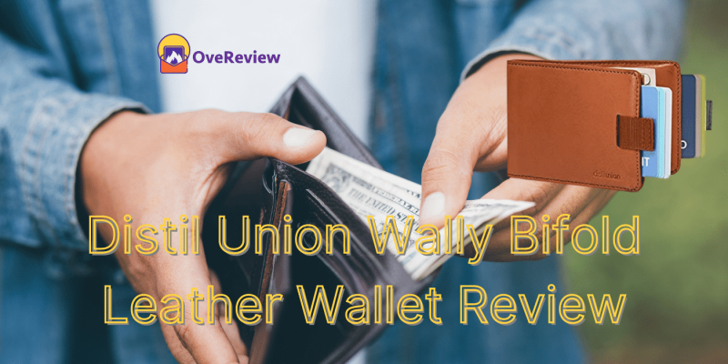Distil Union Wally Bifold Leather Wallet Review + Discount OFFER