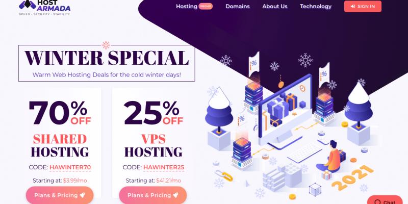 Hostarmada Review▷Is Hostarmada a Good WordPress Host? 2021