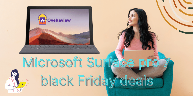 Microsoft Surface pro 7 black Friday deals & offers + Free delivery