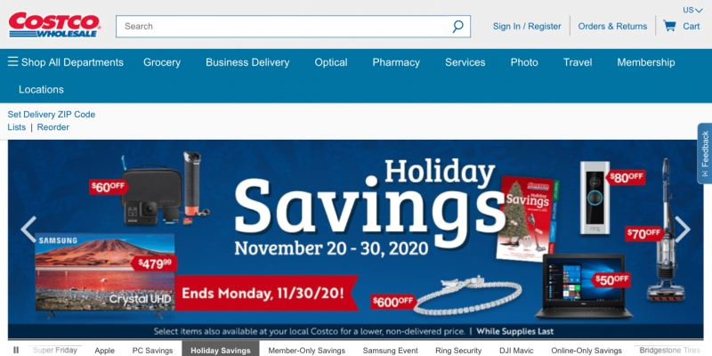 Costco Cyber Monday 2021 Ad, Deals & Sales [Discount]