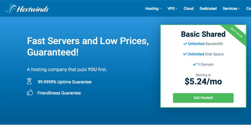 Hostwinds Review 2021 – up to 90% off