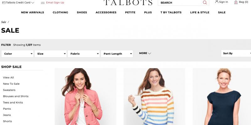 [70% OFF] Talbots Black Friday 2021 Deals, Sales & Ads