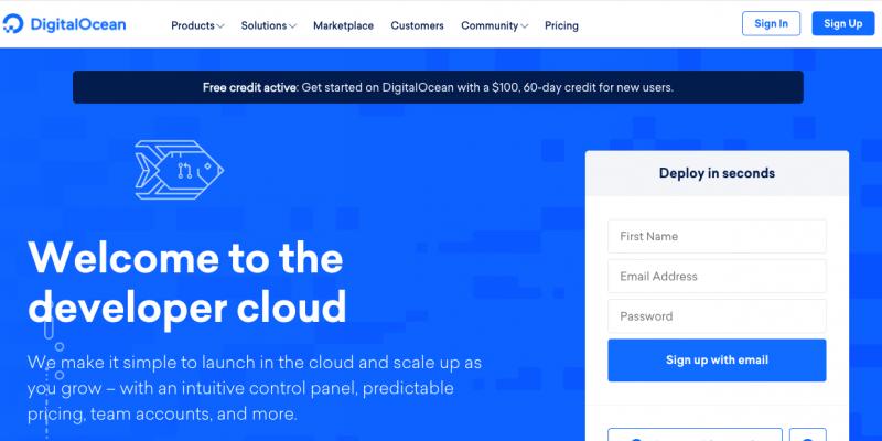 DigitalOcean Black Friday Sale 2021 – Get Free $100 Credits