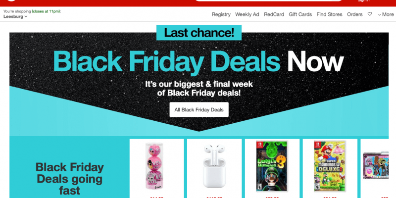 Target Black Friday 2021 Ad, Deals and Sales – UPTO 89% OFF